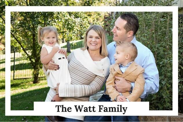 Greg Watt and his family